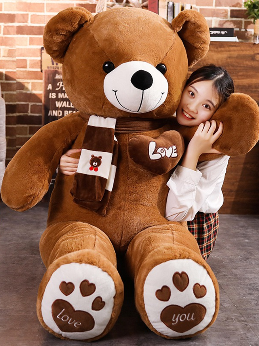 Doll Pillow Plush-Toys Teddy Bear Stuffed Animals Birthday Baby High-Quality Lovers Kids