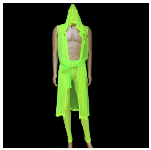 Sexy See-through Men Suits Fluorescent Green Pink Cloak Leotard Pants Nightclub Bar Tide Singer Dancer Pole Dance Stage Costumes