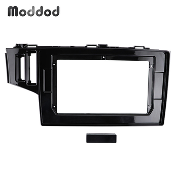 10.1 inch Radio Fascias Fit for HONDA FIT JAZZ LHD WITH SRS HOLE Stereo GPS Player Install Surround Trim Panel Dash Mount Kit image