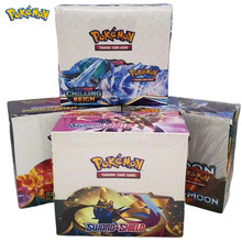 Pokemon Game Collection Cards Pokemon Cards Booster Boxes Sun & Moon Evolution Sword Shield Hidden Fate Trading Card Kids Toys