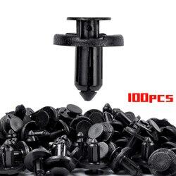 MIKKUPPA 100 шт. зажимы для бампера 8 мм защелка для Infiniti и Nissan пластиковые фиксаторы с заклепками