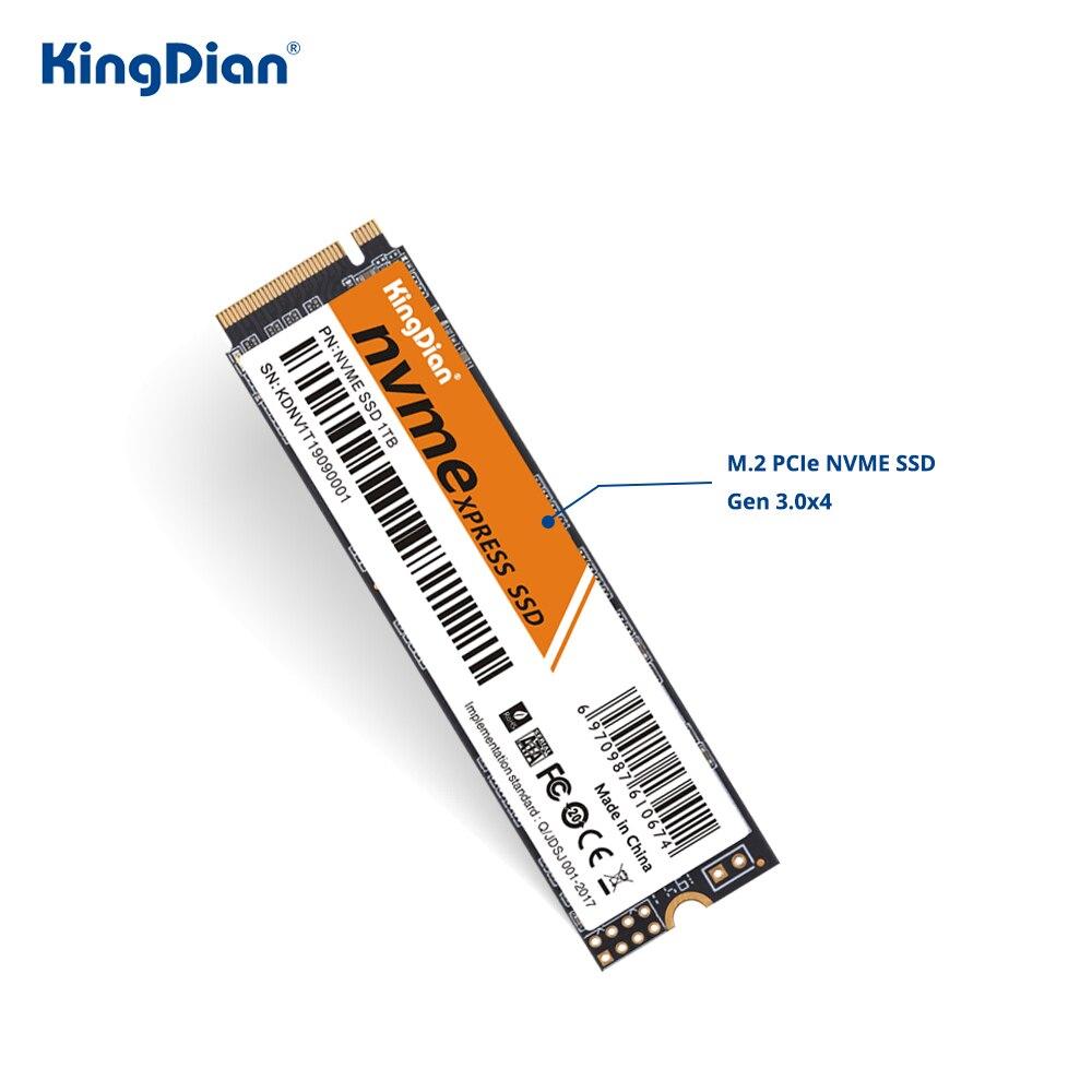 KingDian M2 NVME 128gb 256gb 512gb 1tb SSD PCIe M.2 2280 SSD Hard Drive Hdd Internal Solid State Disk