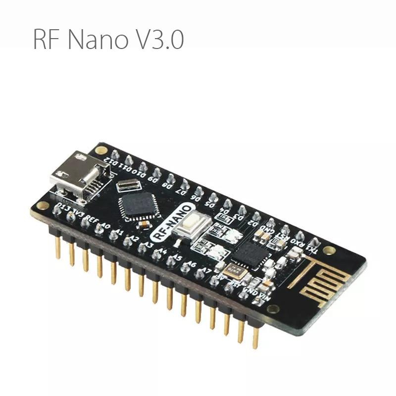 Модуль BlueRaven RF Nano V3.0 Micro USB ATmega328P QFN32 5 в 16 м CH340 интегрированный NRF24l01 + 2,4G беспроводной Imme для Arduino
