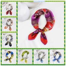 2020 высокий конец шелковицы шелковый шарф женщин all-матч корейский платок работают профессиональные платок печать шарфы
