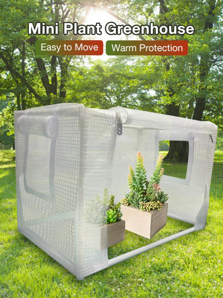 Plant Warm Greenhouse Succulents Plant Insulation Protective Room Anti-Mosquito Tent For Indoor And Outdoor Use