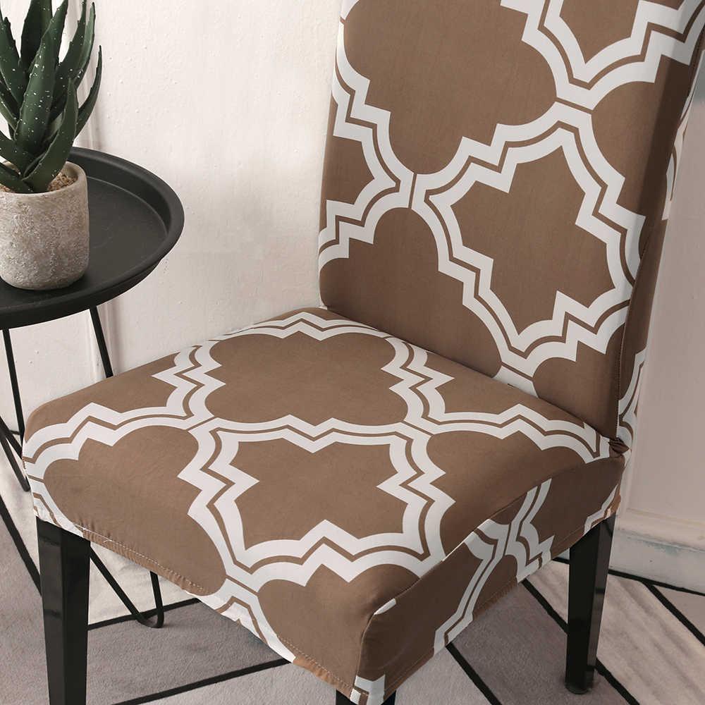 Spandex silla con funda extraíble cubierta lavable elástico asiento de comedor para banquete boda restaurante Hotel Fiesta 1/2/4/6 uds