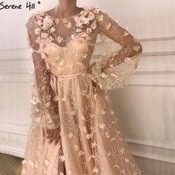 Платье-кафтан с длинным рукавом, Формальное, вечернее платье, элегантные платья, 2020, BLA6496
