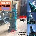 Модернизированная башня Мстителей Супер Герои подходят бесконечные войны Мстители эндигра Marvel Железный человек строительный блок кирпич ...