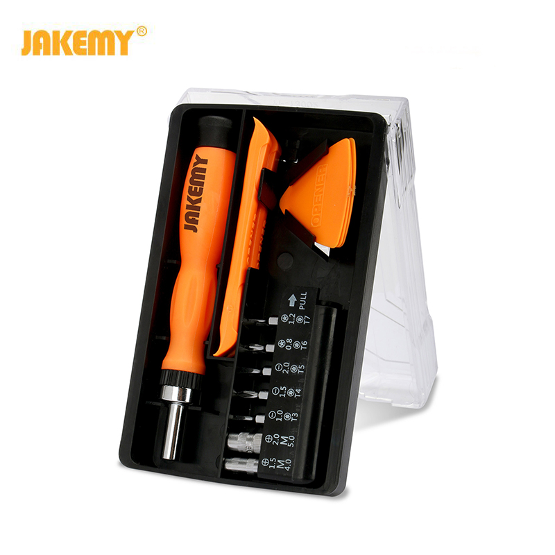 20-in-one ratchet screwdriver tool kit with turning-on blade and turning-on rod cross screwdriver image