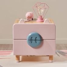 Шкафчики из цельного дерева прикроватные шкафчики для хранения детей прикроватные шкафчики для девочек из сосны