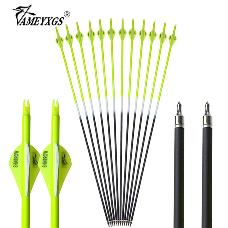 6x Elastic Rubber Arrowheads Blunt Parts Game Archery Target Tips Broadhead