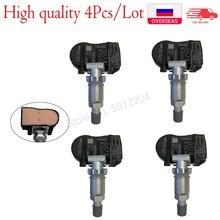 4 pces sensor de pressão dos pneus 52933 3n100 529333n100 529332m650 tpms válvula sistema de monitor de pressão da roda para kia para hyun dai