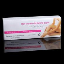 80pcs/set Waxing Health Beauty Smooth Legs props Wax Strips