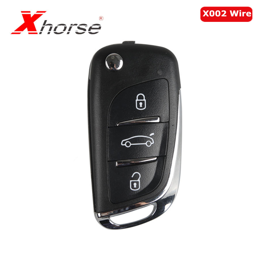 Xhorse VVDI2 For DS Type Remote Key 3 Buttons With Xhorse X002 Wire Remote Key 1 Pc