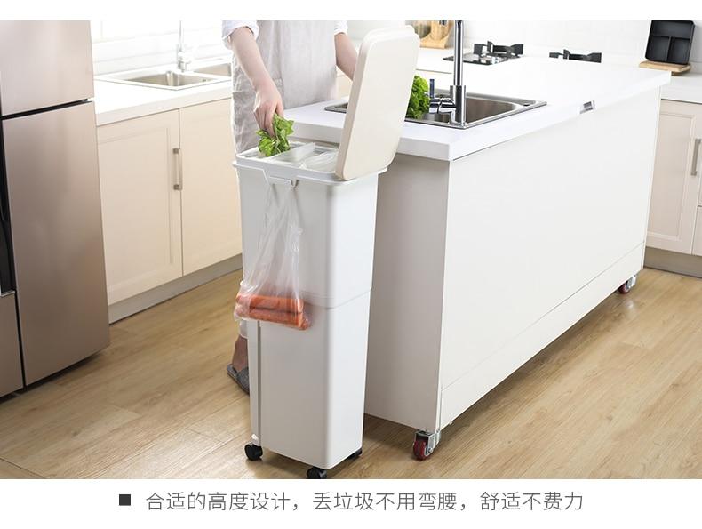 saco de lixo titular reciclagem bin lixo