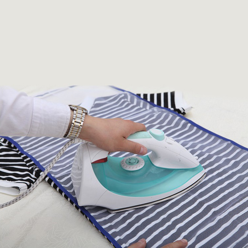 High Temperature Resistance Ironing Heat Insulation Mat Household Protective Mesh Cloth Cover Ironing Mat JJJRY1033 image