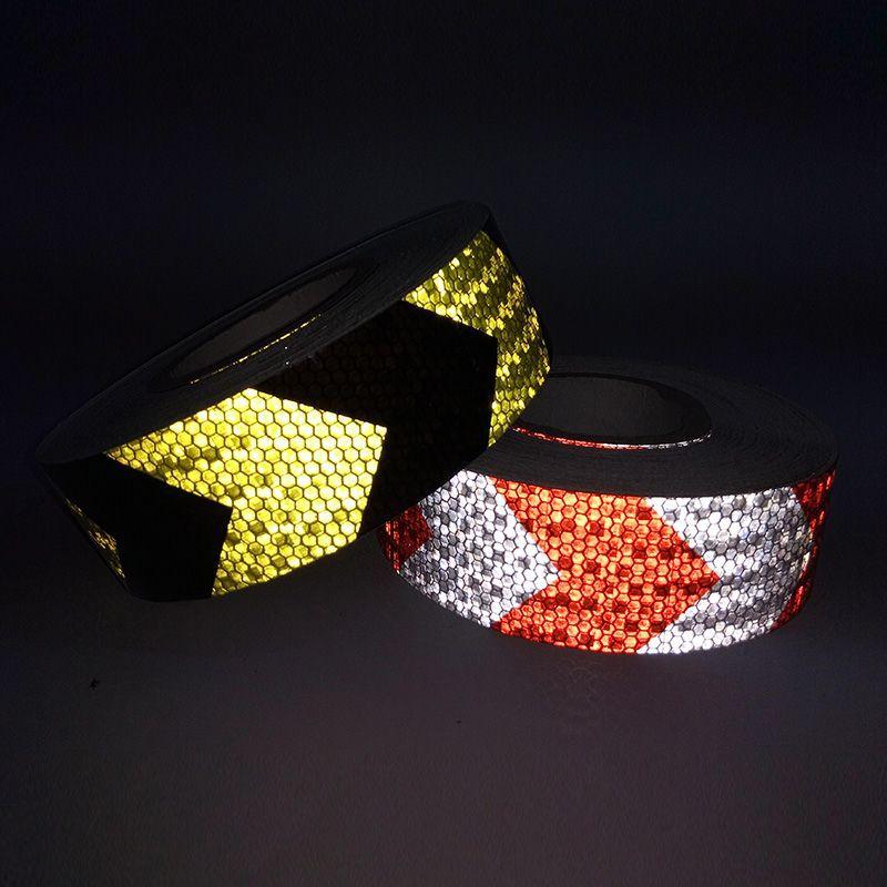 Reflective-Oriented Arrowhead Identifies Crystal Color Lattice Arrowhead Reflective Strips Variety Style Color Customizable