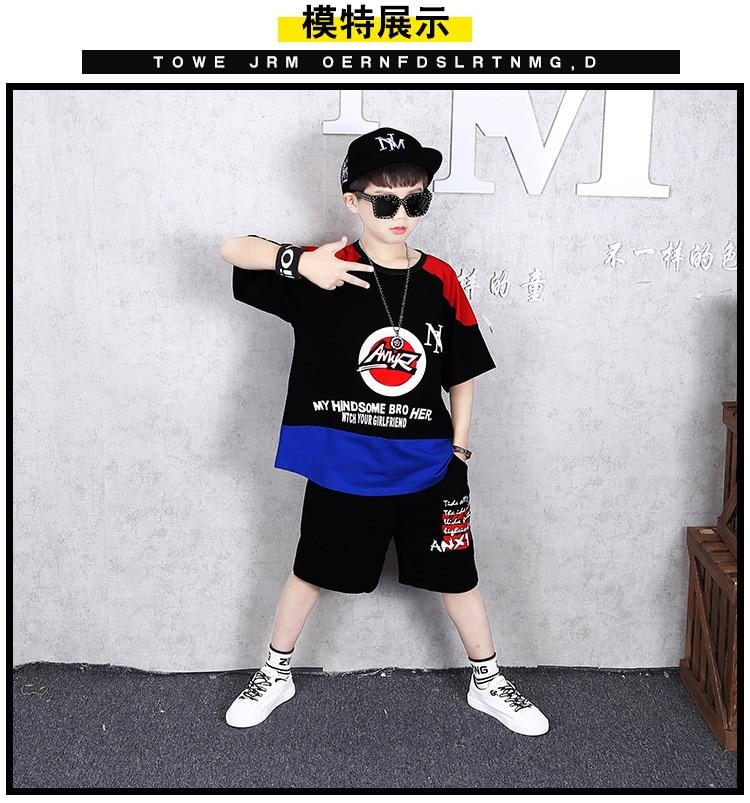meninos adolescentes roupas casuais terno crianças manga