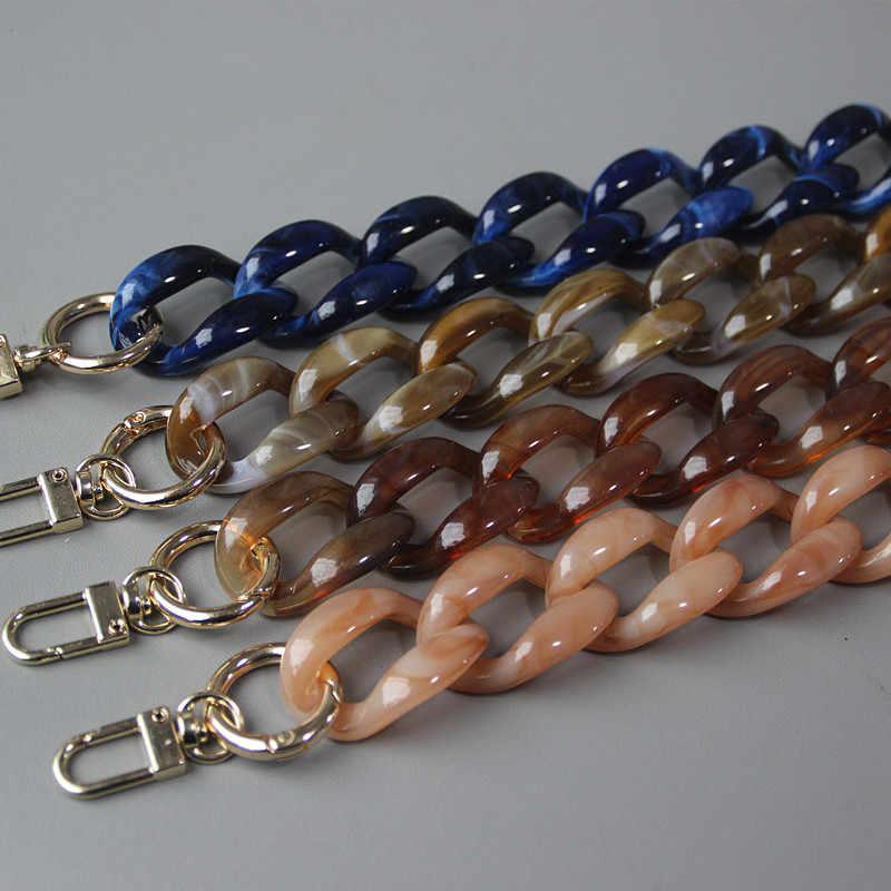 Detachable Replacement Shoulder Strap Bag Acrylic Resin Handbag Chain Bag Handle