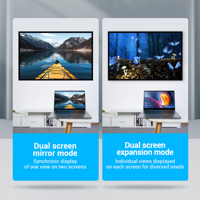 Vention HDMI Adapter 90 270 Degree Right Angle HDMI Male to HDMI Female Cable Converter for HDTV PS4 PS5 Laptop 4K HDMI Extender