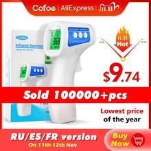 Cofoe Voorhoofd Digitale Thermometer Non Contact Infrarood Medische Thermometer Lichaamstemperatuur Koorts Meten Tool Voor Baby Volwassenen