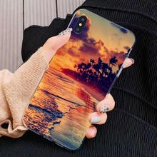 For Sony Xperia Z5 XZ XA1 XA2 Premium ULTRA 10 X L2 TPU Silicone Case Sunset Sea Sky Ocean of Water(China)