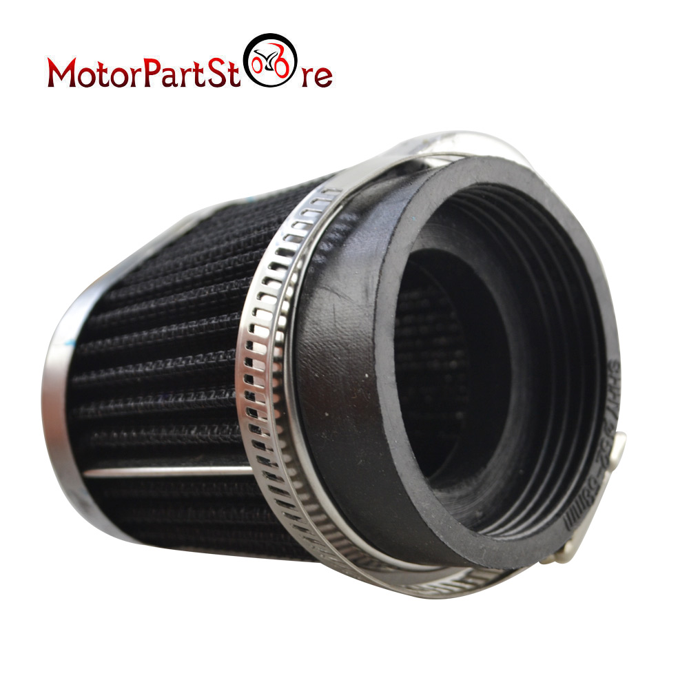 <font><b>Air</b></font> <font><b>Filter</b></font> Auto Vehicle Car Cold <font><b>Air</b></font> Intake <font><b>Filter</b></font> Cleaner Funnel Adapter <font><b>54mm</b></font> <font><b>Air</b></font> <font><b>Filter</b></font> Car Cold Kits FOR Honda CB750 650 900 image
