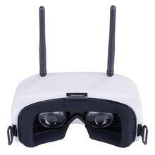 Sj Rg01 5,8g 48ch двойной дисплей разнесенное Видео Fpv очки 3,7 v 1500mah батарея E65A