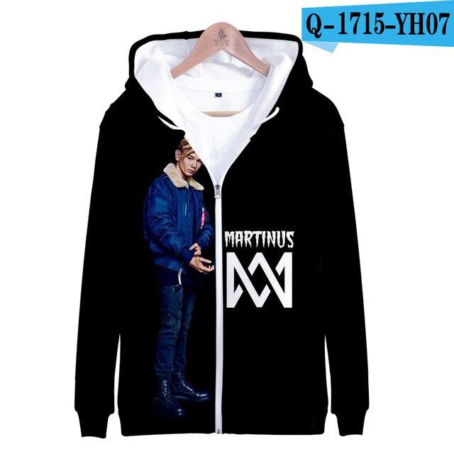 3 To 14 Years Kids Hoodie Marcus and Martinus 3D Hoodies Sweatshirt Boys Girls Fashion Harajuku Jacket Coat Children Clothes 13