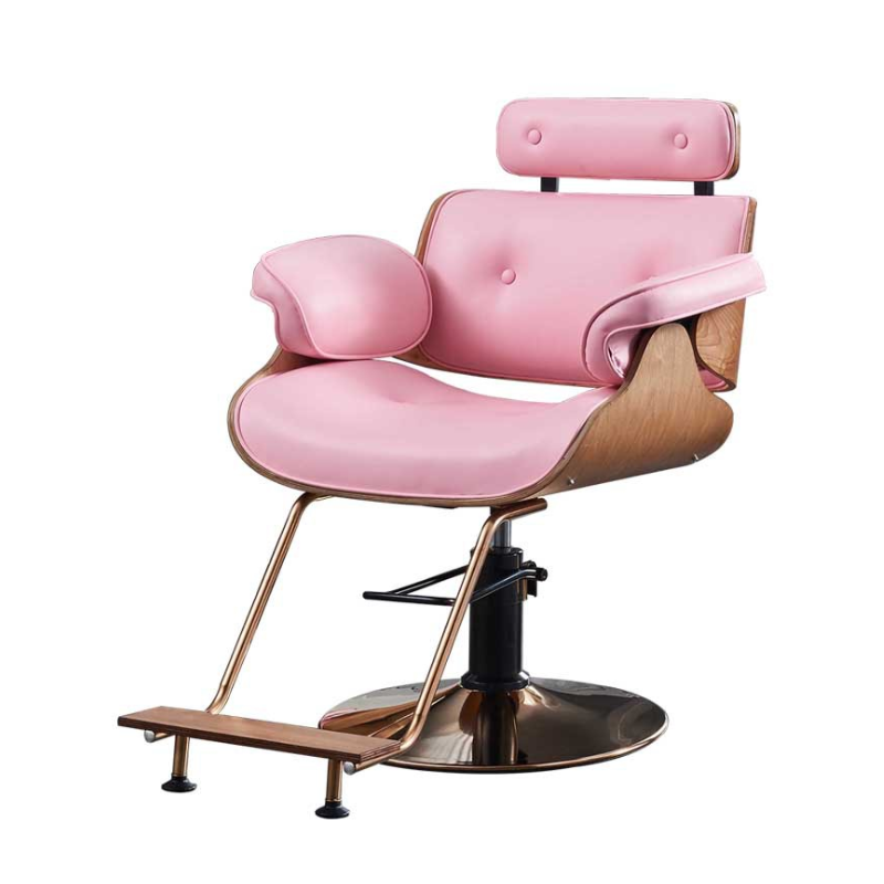 High-end Barber Chair Hairdressing Salon Hair Salon Special Barber Shop Chair Net Red Haircut Chair Modern Minimalist Work Chair