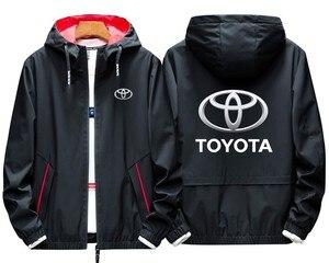 Toyota Cárdigan para hombre con capucha, chaquetas personalizadas para hombre, sudaderas con capucha informales, Sudadera con capucha, nuevo jersey para hombre, sudaderas, abrigos Unisex