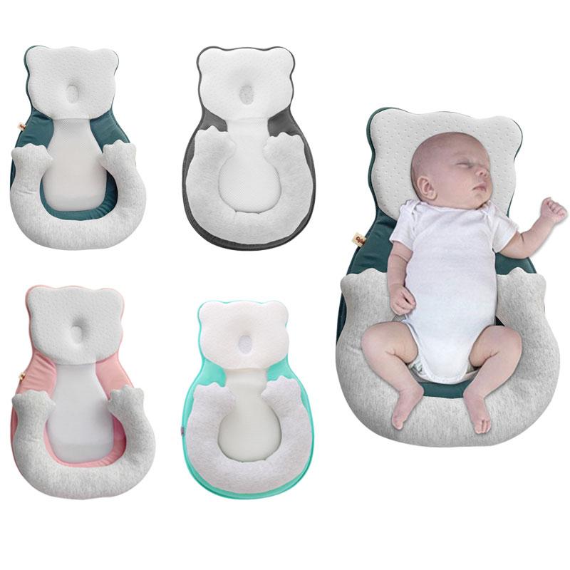 Baby Anti-roll-Kissen Neugeborenen Verhindern Flat Head Infant Schlaf Stellungs Kissen für Kleinkind Baby Krippe Wiege Bett Nest stubenwagen