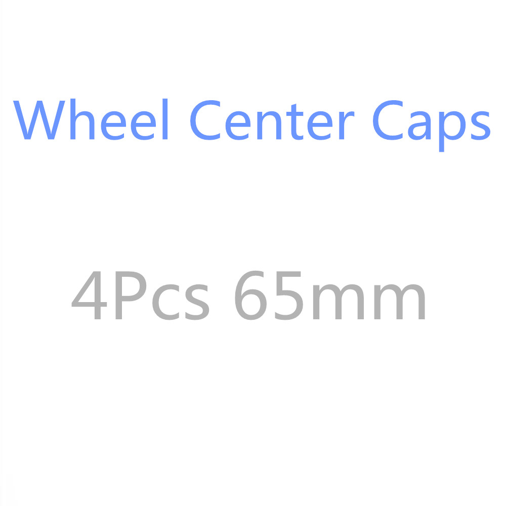 4X 65MM For VW Polo Passat B5 B6 B7 Beetle T4 T5 Touran Bora Caddy Boost Golf <font><b>3</b></font> 4 5 6 <font><b>7</b></font> MK3 MK4 Car Wheel Center Cover Hub Cap image