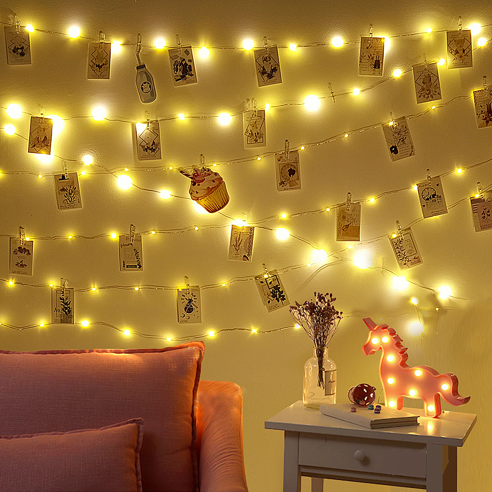 Fairy Lights Indoor Christmas Garland