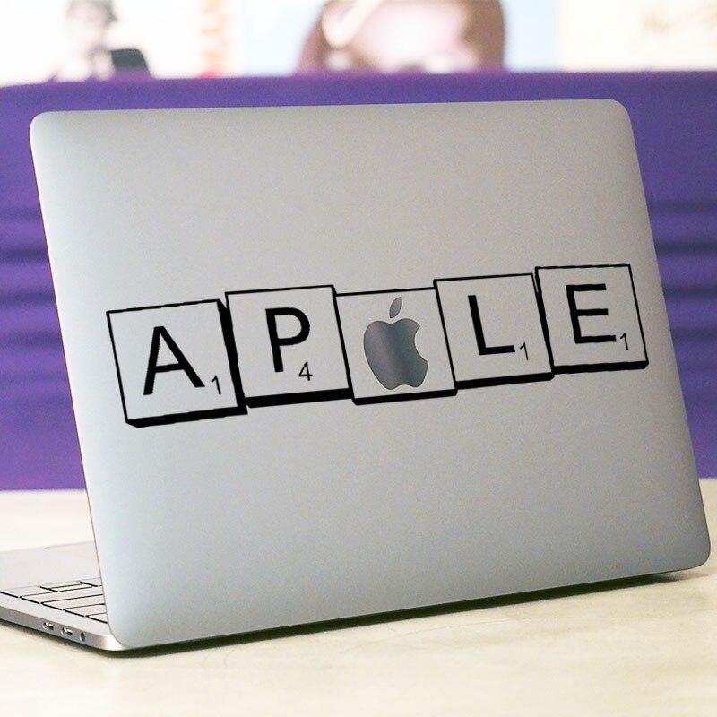 3D Square Logo Laptop Sticker for font b Apple b font font b Macbook b font