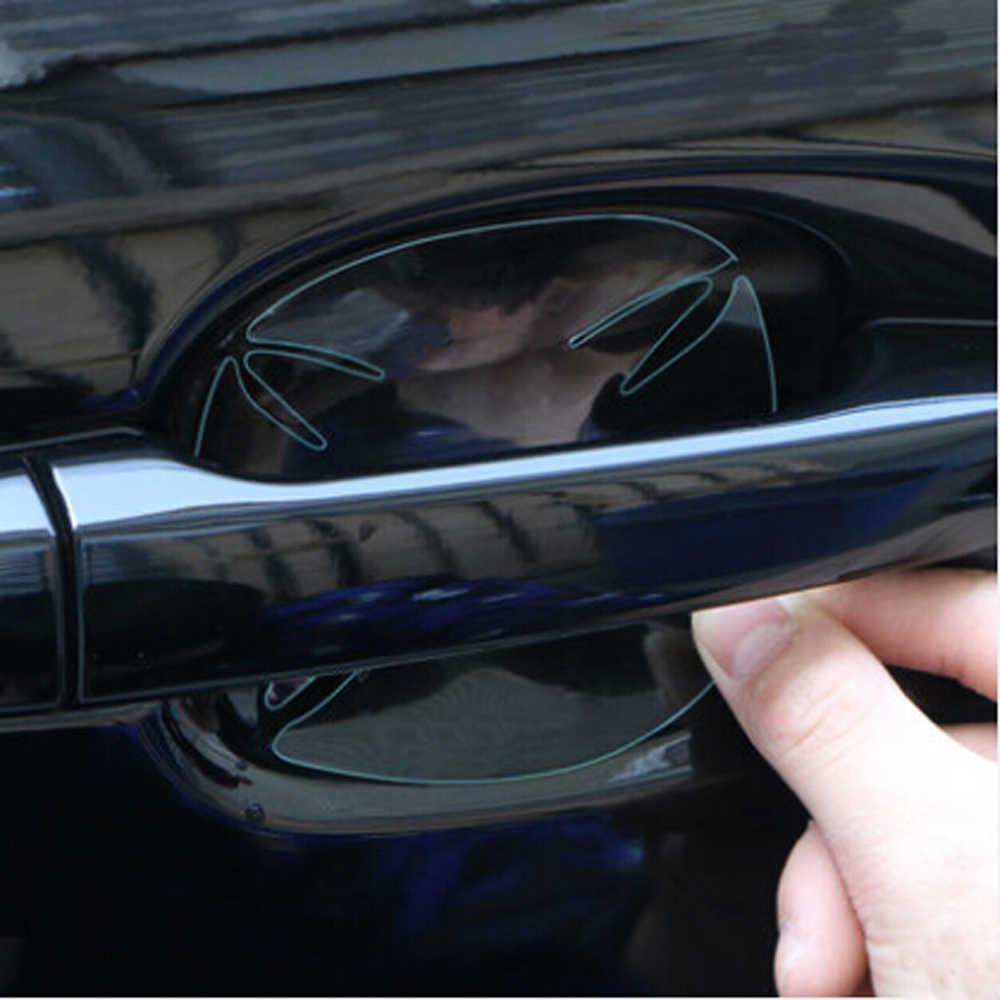 Autocollant de Film de Protection de poignée de voiture pour Nissan 370z honda grom mercedes benz bmw x3 mini cooper s r56 ford emblème bmw keychai