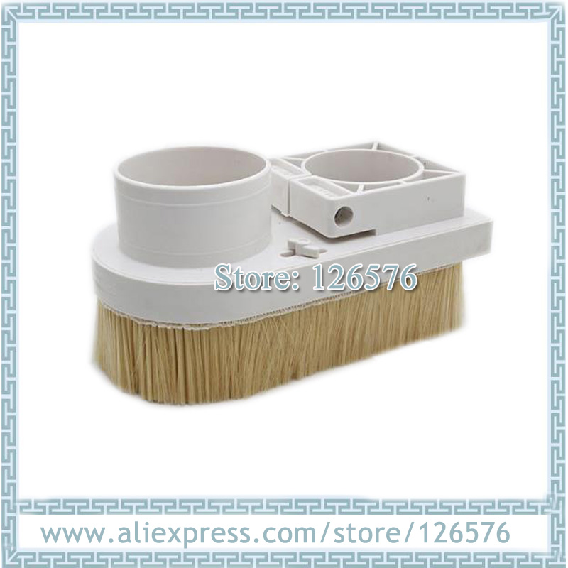 80mm/85mm Dust Collector Cover Wood Cnc Spindle Dust Cover Dust Brush Soft Brush D80mm D85mm
