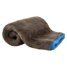 60X40 см 1200GSM полотенце из микрофибры для мытья автомобиля, ткань для Сушки автомобиля, полотенце для мытья автомобиля, автоаксессуары
