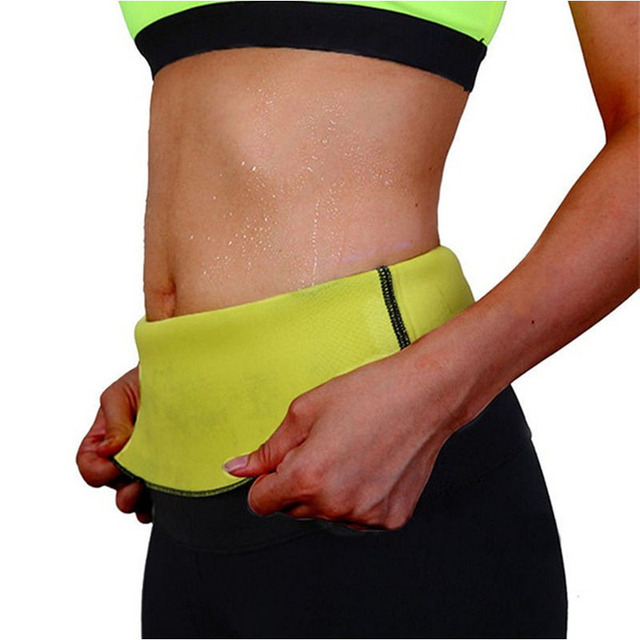 Slimming Sauna Belt For Weight Loss & Fat Burning - Sweat Band Body Shaper For Men Women 3