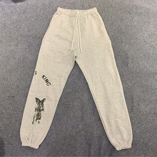 Kanye West JESUS IS KING Print Joggers Sweat Pants Men and W
