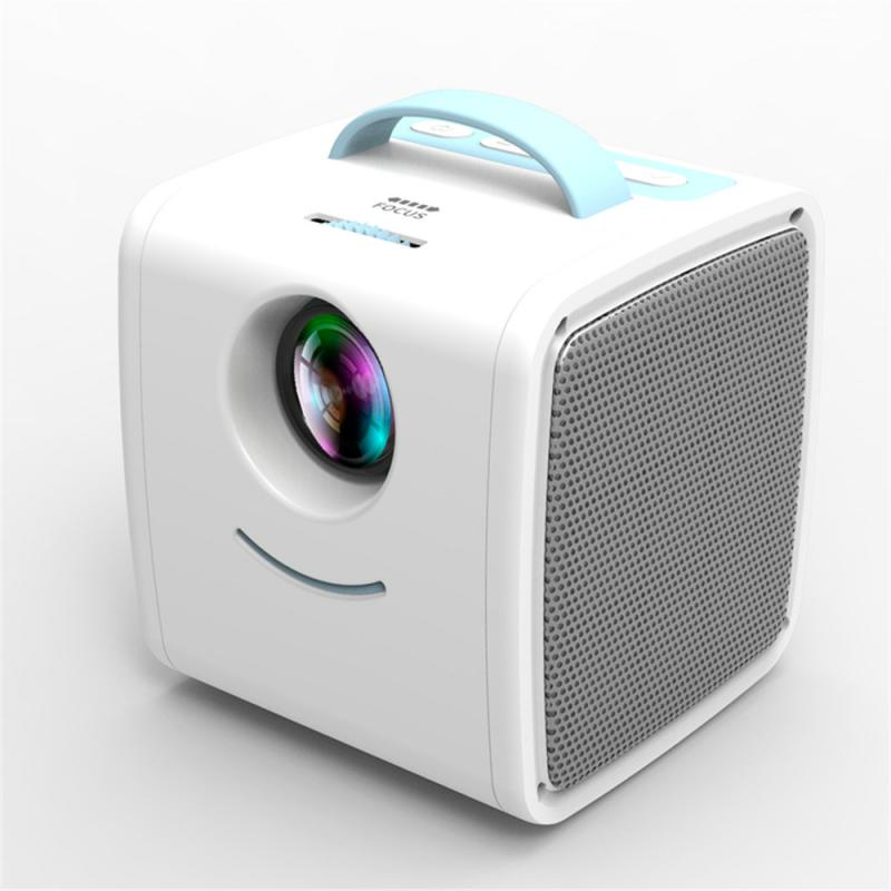 Q2 Mini Projector 700 Lumens Portable Projector Child Early Education Mini 1080p LED Home Projectors Support 1080P