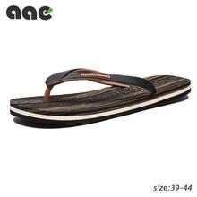 2020 yaz erkek terliği dışında Flip flop erkekler plaj terlikleri erkek sandalet klip ayak sürükle erkekler rahat ayakkabılar Zapatos Hombre 39 44