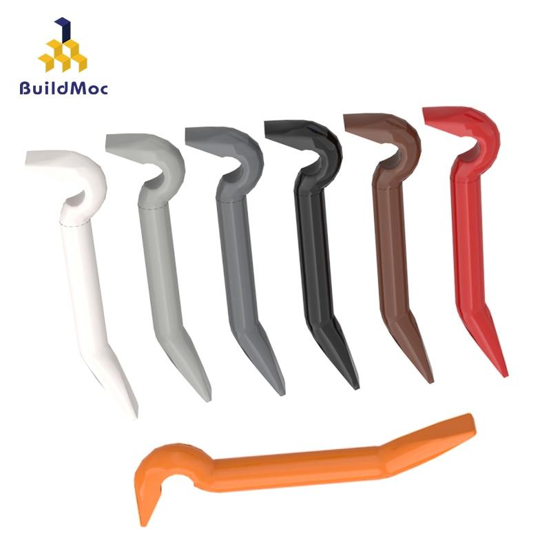BuildMOC Compatible Assembles Particles 92585 Crowbar Building Blocks Parts DIY LOGO Educational Creatives Gift Toys