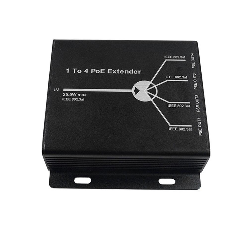 camera ip estender 120m distancia transmissao com 10 100 m portas lan 02