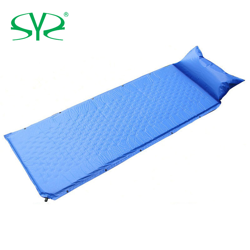 Auto-Gonflant Tapis Camping Oreiller Gonflable Couchage Pad compact étanche