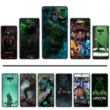 Amerikaanse Tv-Serie Arrow Zwarte Mobiele Telefoon Geval Voor Samsung Galaxy S8 S9 S10 Plus Lite S10E Note 3 4 5 6 7 8 9 10 Pro Cover(China)