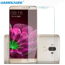 Transparent HD Glass for Huawei Mate 8 9 10Pro Tempered Glass Screen Protector F
