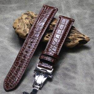 Watch belt New Crocodile skin