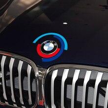 Maska samochodu pokrywa silnika naklejka z Logo maski naklejki z literami i cyframi dla BMW E60 E90 F20 F30 F10 G30 Z4 F15 F16 F25 G05 G01 G20 X1 akcesoria