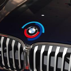 Car Hood Engine Cover Logo Sticker Bonnet Emblem Decal For BMW E60 E90 F20 F30 F10 G30 Z4 F15 F16 F25 G05 G01 G20 X1 Accessories
